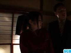 fantastic asian schoolgirl ruka kanae masturbates