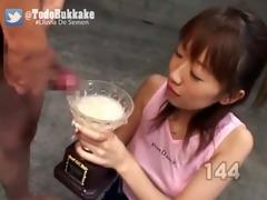colecci&oacute n gokkun - asiaticas bebiendo