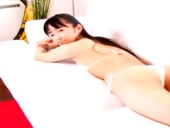softcore asian bikini panty tease