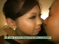 mimi blameless cute japanese beauty giving a