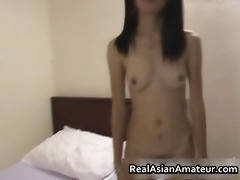 lustful non-professional oriental girl stuffed