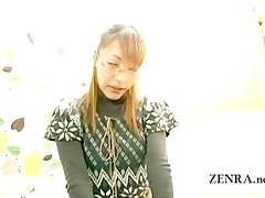 subtitled japan office lady outlandish foreplay