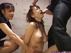 cock hungry asian harlots sucking, fucking part4