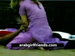 lewd non-professional arabian pair go nasty in