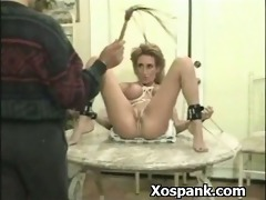 extraordinary thraldom wench spanked sexy