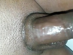 desi indian chap playing with oiled penis
