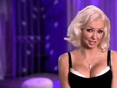 oriental and blond playboy honeys perform for 7