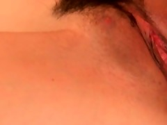 unshaved japanese angels receive an intensive
