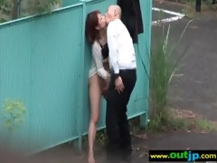 outdoor hardcore sex with floozy japanese sexy