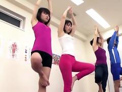 subtitled japanese yoga stretching class avid