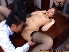aya matsuki kinky oriental doll in office part6