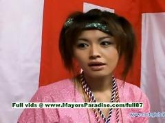 yuzuru japanese sinless chinese girl is talking
