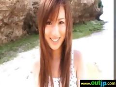 outdoor hawt oriental angel receive wild sex