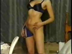 indian gal showing off