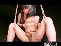 concupiscent bondaged sex by lustful hotty 113