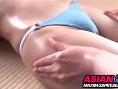 softcore oriental bikini massage