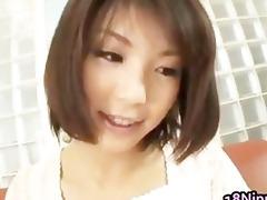 azumi haruski sexy oriental model gets cum part5