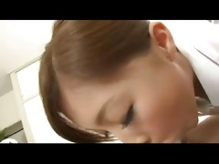 japanese babe gives cook jerking and irrumation