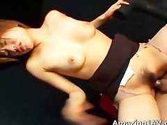 wicked japanese girl screwed in the wet crack