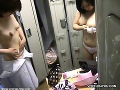 spying in nature angels in locker room