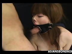 japanese cutie screwed in her face hole all