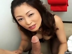 marie sugimoto sucks dick in pov