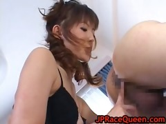 hiromi aoyama receives bawdy cleft licked part5