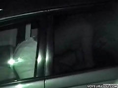 infrared spycam voyeur car sex act