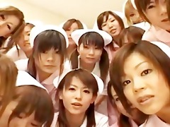 oriental nurses have a fun sex on top part10