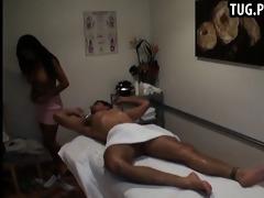 asian massage angels caught having sex