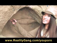 cute asian dark brown legal age teenager whore