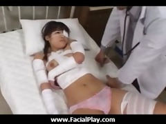 japanese sweethearts love facial spunk flow all