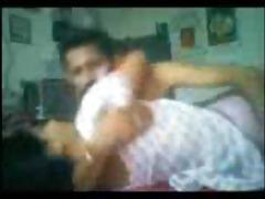 indian sex, mallu cutie has sex with her