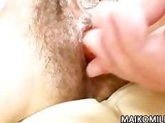 japanese milf fumiko manaka with unshaved muff