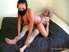 bikini ninja softcore censored creampie assault