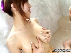 sexy miu satsuki stimulated in a spa uncensored.