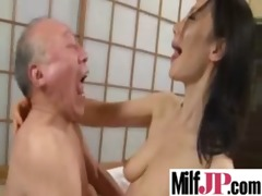 breasty asians milfs acquires team-fucked